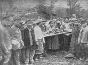 Жертвы деникинского погрома в Фастове. Сентябрь, 1919 год.