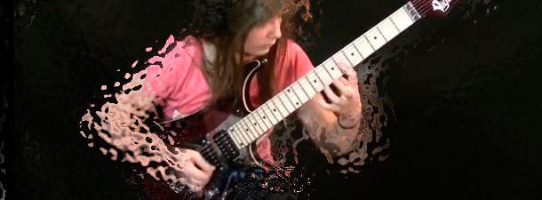 виртуозное соло на гитаре