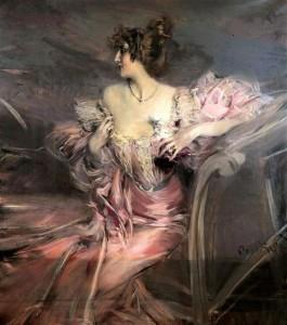 Неизвестная  ранее,  картина кисти Джованни Болдини