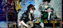 испанской гитарой