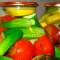 засолки огурцов вместе с помидорами