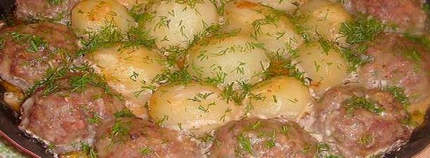 Котлетки с картошкой