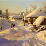 зима пейзаж
