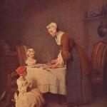 Ж.- Б. Шарден. Молитва перед обедом. 1740