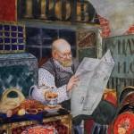 Кустодиев Б.М. Сундучник