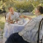 Попов Лукиан Васильевич(1873-1914) В саду