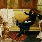 John Charlton Развлечения во время чаепития