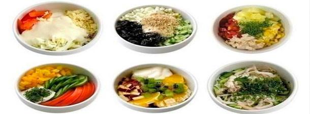 Мини - салатики