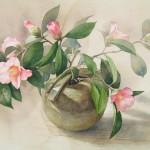 акварели натюрморт цветы