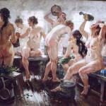 Александр Герасимов,В бане