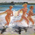 Александр Дейнека, Бегущие девушки, 1941
