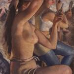 З.Серебряковой Балетная уборная 1924