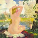 Кустодиева Купальщиц, 1921