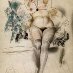 Юрий Анненков Портрет жены1920