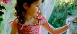 дети представляют любовь