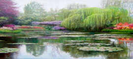 волшебные пейзажи и натюрморты