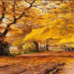 Тема осени в картинах известных художников