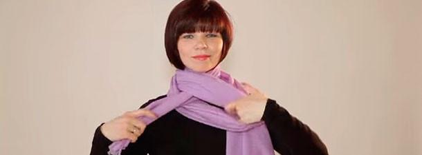 Учимся завязывать шарфы