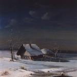 А.Саврасов, Зимний пейзаж (1871)