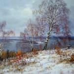 Валерий Артамонов.    Ранняя зима