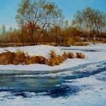 Петрович Дмитрий.Рождественский мороз на Плисе.2007