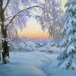 Харченко Иван. Зимний вечер