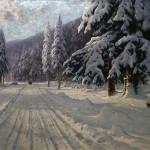 Шильдер Андрей Николаевич. Зимняя дорога